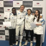 Salle Boston Women's Foil Team Silver Medal